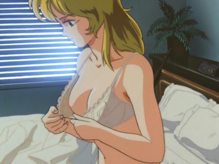 ライディング・ビーン ラリー・ビンセントの胸裸着替えシーン乳首10