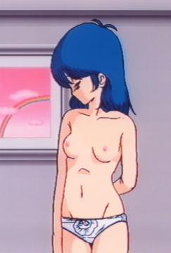 香澄 胸裸パンツ全身