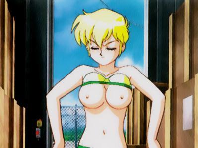 スーチーパイII 一文字つかさ 脱衣シーン 胸裸