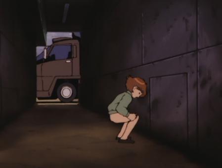機動戦士Vガンダム スージィ・リレーンのおしっこシーン パンツを脱いで尻3