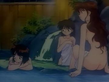 貴子&志穂&茉実 入浴シーン