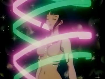 あやめ 胸裸 変身シーン