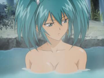呂布 温泉入浴シーン