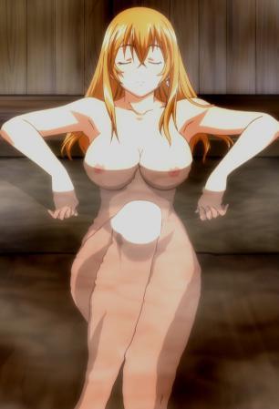伯符 全裸 入浴シーン