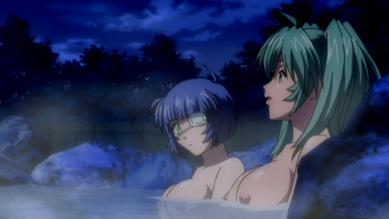 呂布&呂蒙 胸裸 温泉入浴シーン