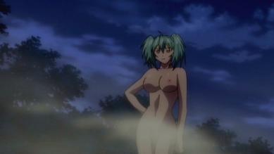 呂布 全裸 温泉入浴シーン