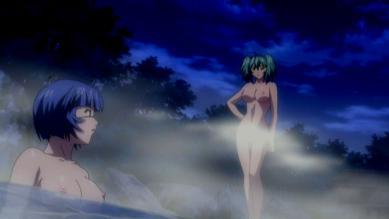 呂蒙 胸裸 温泉入浴シーン + 呂布 全裸
