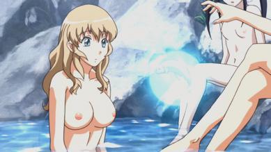仲謀 胸裸水浴びシーン