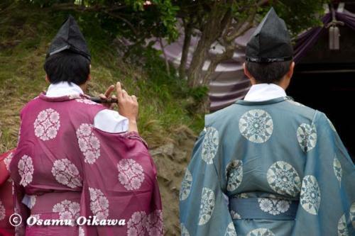 夷王山神社 神楽太鼓