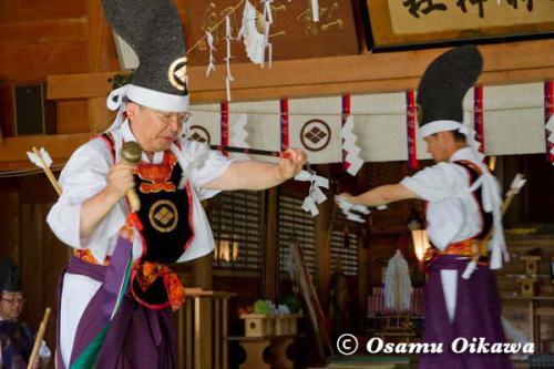 松前町 松前神社 松前神楽 神遊舞 2012