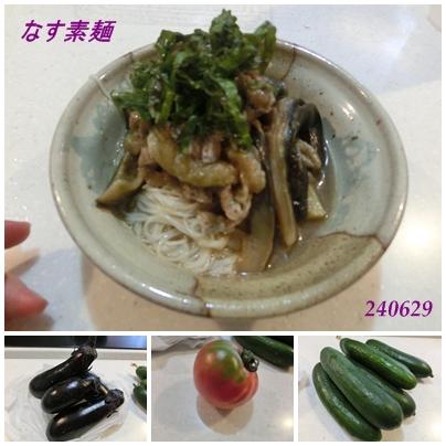 240629なす素麺