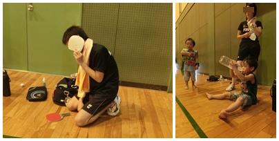 240826三菱電機体育館にて練習