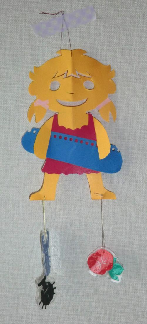 夏モビール女の子