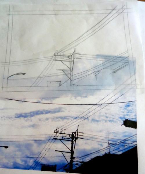 空電線01