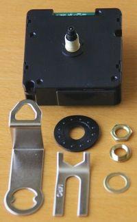 電波時計ムーブメントと付属部品