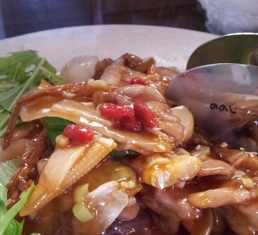 豚肉の甘酢新生姜炒め
