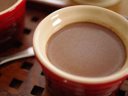 チョコレートのプディング08