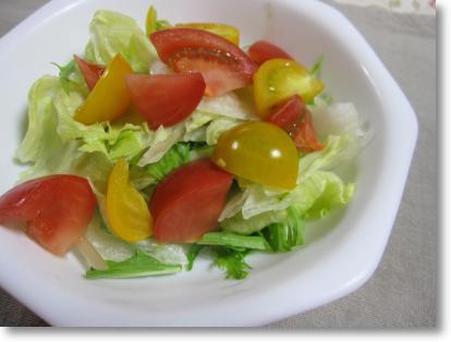 トマトが美味しい♪
