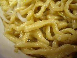 びんびん豚 ラーメン(中)(麺)