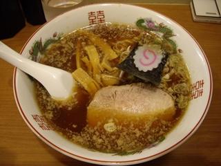 新橋 柳麺 正油