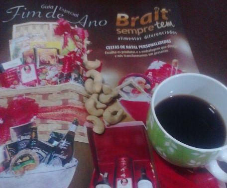 コーヒーとカシューナッツ