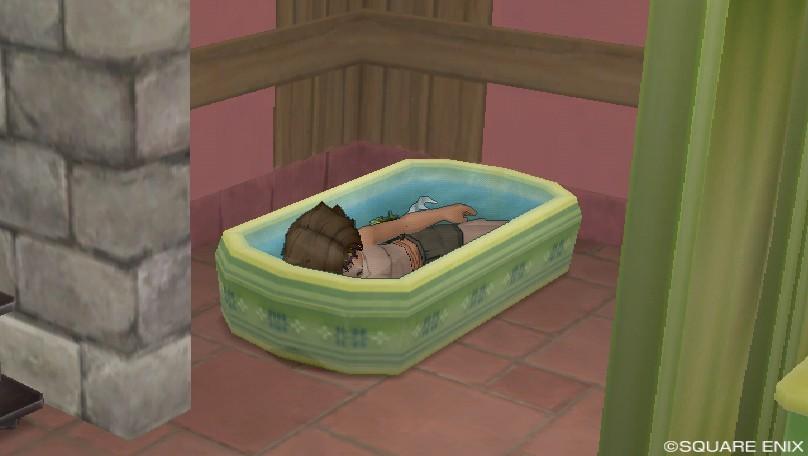 入浴ともさん