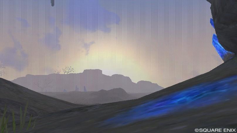 デマトード高地の朝