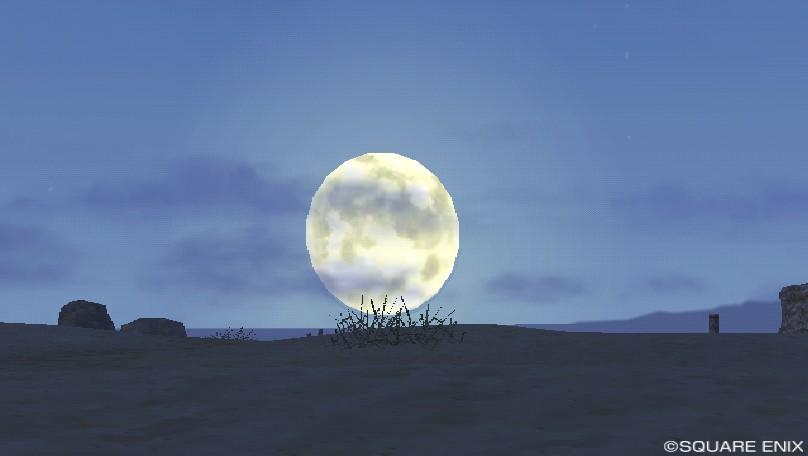 ゴブル砂漠西の月