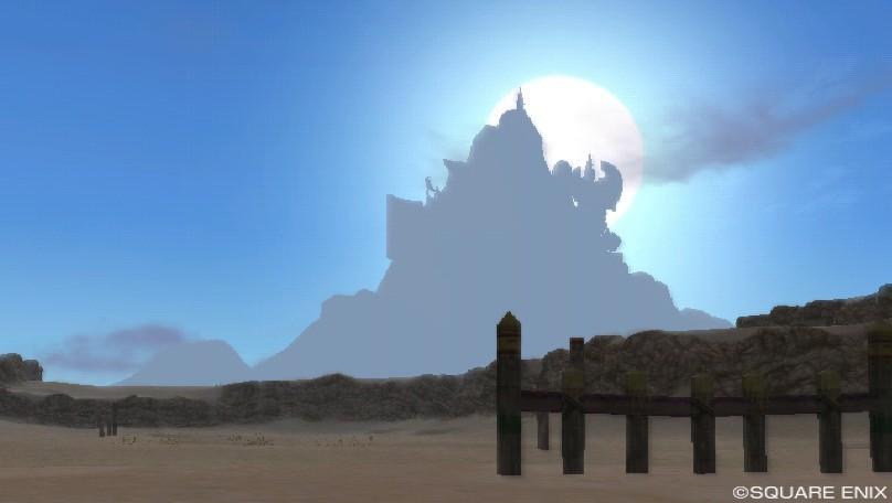 ゴブル砂漠の朝