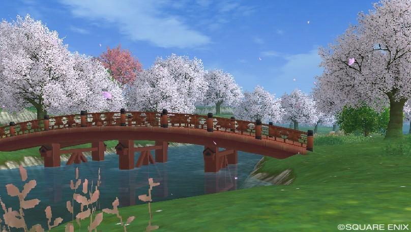 カミハルムイ領南の桜並木2