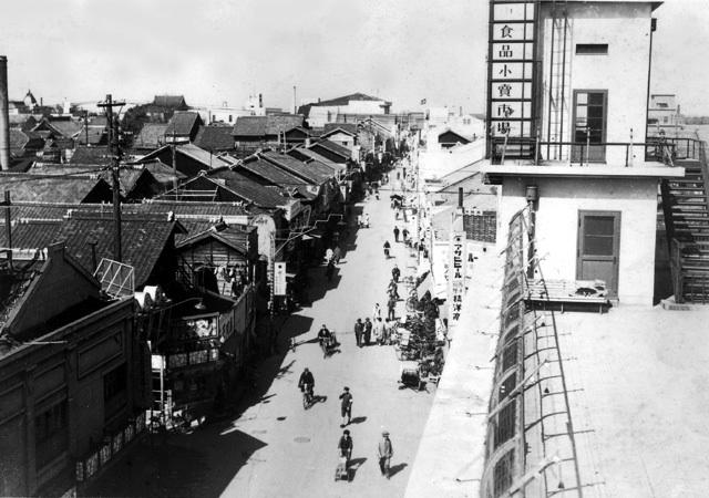 昭和初期赤門通り