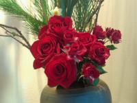 20121231 お正月用お花