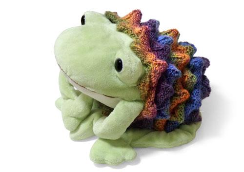スパイキーネックウォーマー蛙