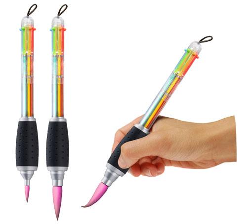 八色筆ペン2本