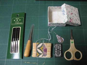 日本刺繍 道具2