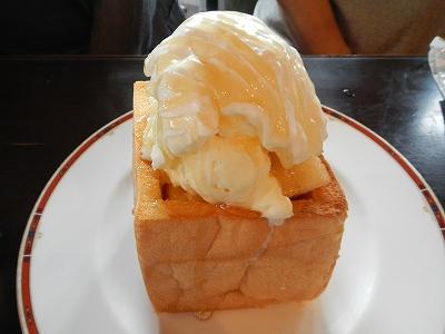 プレーンはちみつトースト
