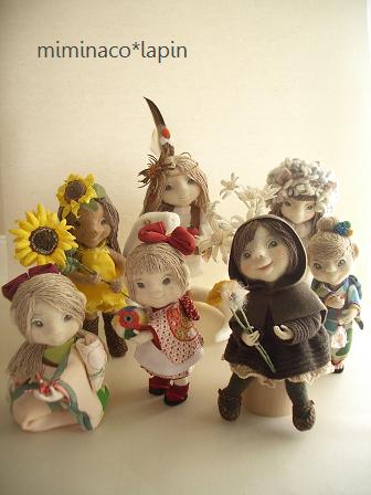 グループ展人形