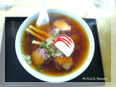 大石屋可児店ラーメン(並) (1)