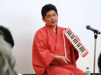2012.5.6 広島・笑いヨガでの芸乃虎や志さん