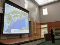 2012.5.24 池田の防災講座での岡村教授2
