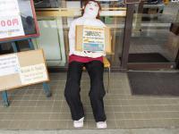 2012.5.24 JR池田駅の人形