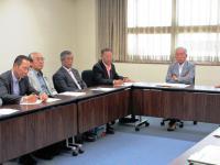 2012.5.30 原発問題で愛媛県への申し入れ2