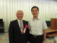 真鍋先生と中村時広愛媛県知事