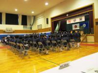 2013.3.15 泉川中学校卒業式2