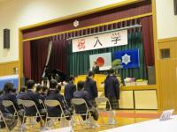 2013.4.8 泉川中学校入学式