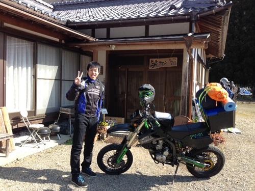 バイクの旅