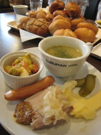 名古屋 うまうま便り    ~The spice every day~-ドイツの夕食