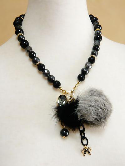 Fur&Crystal-N-gray1