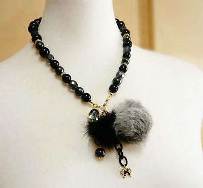 Fur&Crystal-N-gray2
