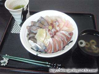 もらった魚丼その1